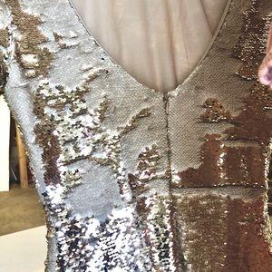 Ark & Co Dresses - Ark & Co Gold Sequin Mini Dress,  Small, HOT!